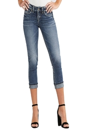 Dear John Suki Cropped Jeans - Product Mini Image