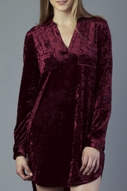 Dear John Velvet Shirt Dress - Product Mini Image
