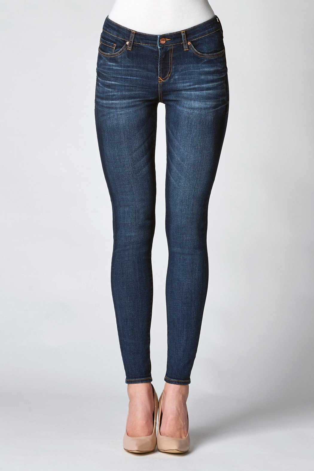 Dear John Denim High Rise Skinny - Front Cropped Image