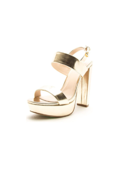 Shoptiques Product: Dearly-08 Platform Sandal