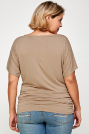 ibstylish  DEB TOP - Back cropped