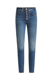 Veronica Beard Debbie High-Rise Skinny Jean - Product Mini Image
