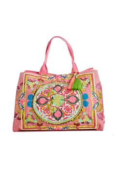 Debbie Katz Embroidered Canvas Tote - Alternate List Image