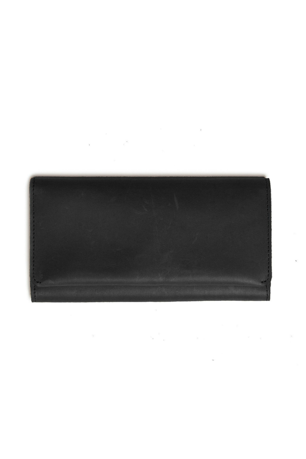 Able Debre Leather Foldover Wallet - Main Image