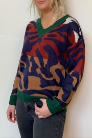 debut Animal Print Sweater - Product Mini Image