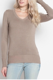 debut Basic Vneck Sweater - Product Mini Image