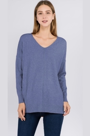 debut Heather-Blue Dreamers Sweater - Product Mini Image