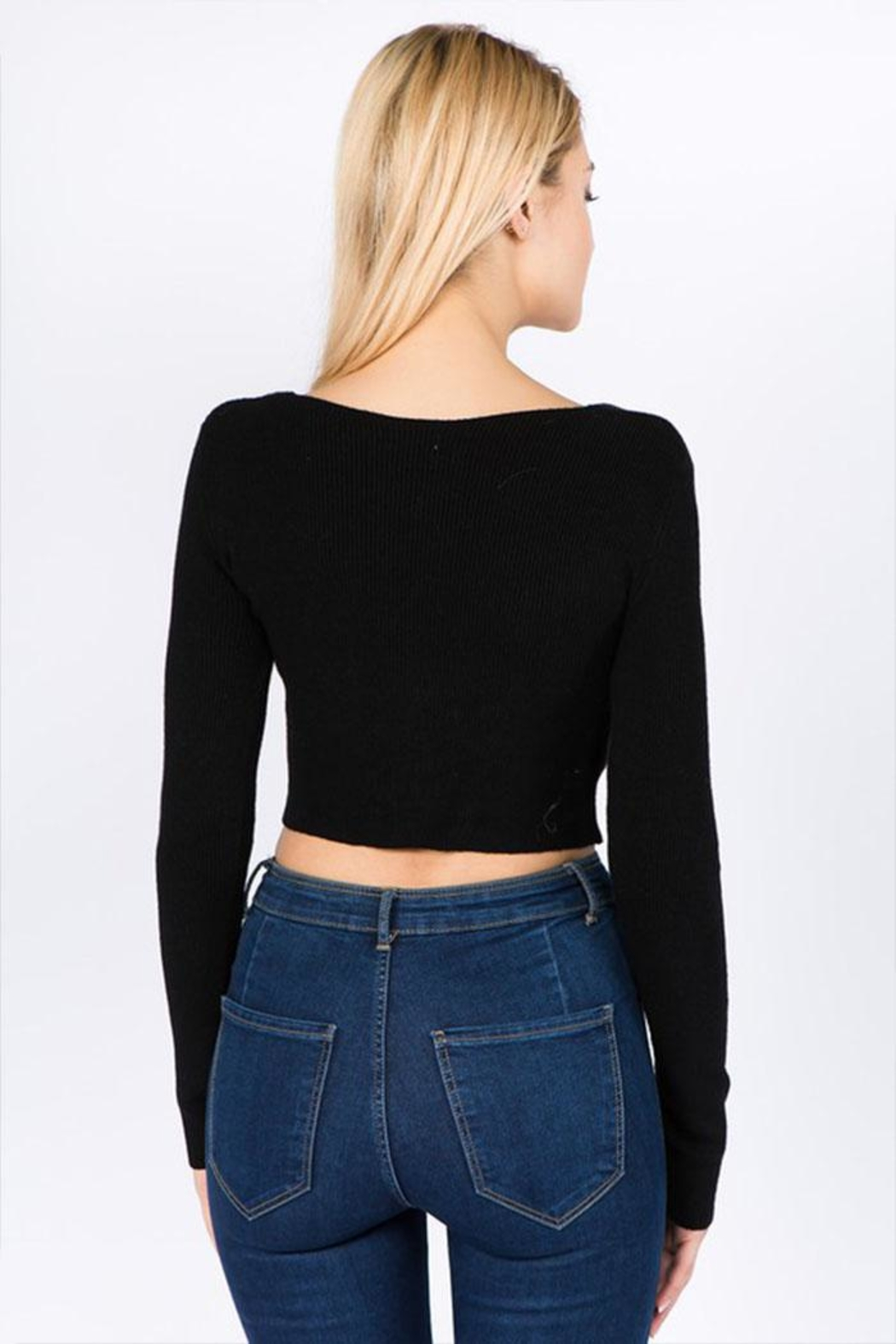 debut Twist Front Top - Back Cropped Image