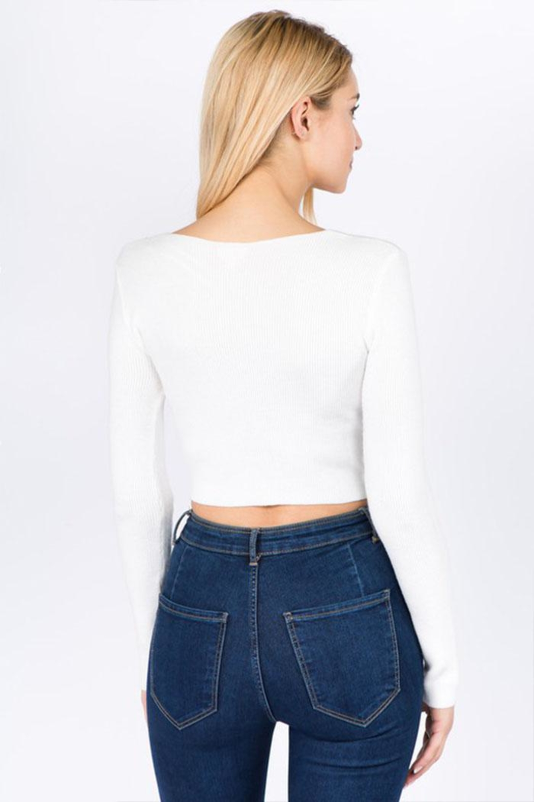 debut Twist Front Top - Side Cropped Image