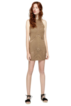 Shoptiques Product: Crochet Halter Dress