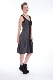 Deca Black Grey Dress - Product Mini Image