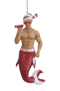 December Diamonds Collectible Merman Ornament - Alternate List Image