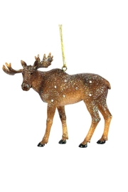 December Diamonds Moose Ornament - Front cropped