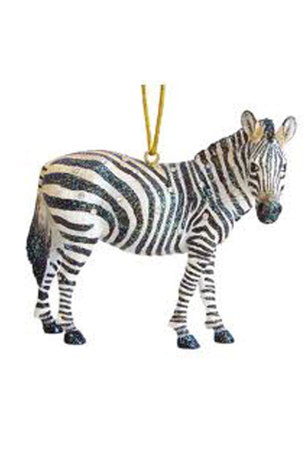 December Diamonds Zebra Ornament - Front Cropped Image