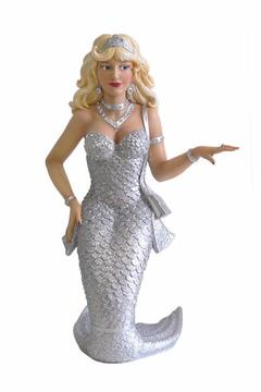 December Diamonds Zirconia Mermaid Decor - Alternate List Image