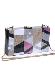 Urban Expressions Deco Clutch - Front full body