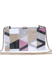 Urban Expressions Deco Clutch - Front cropped