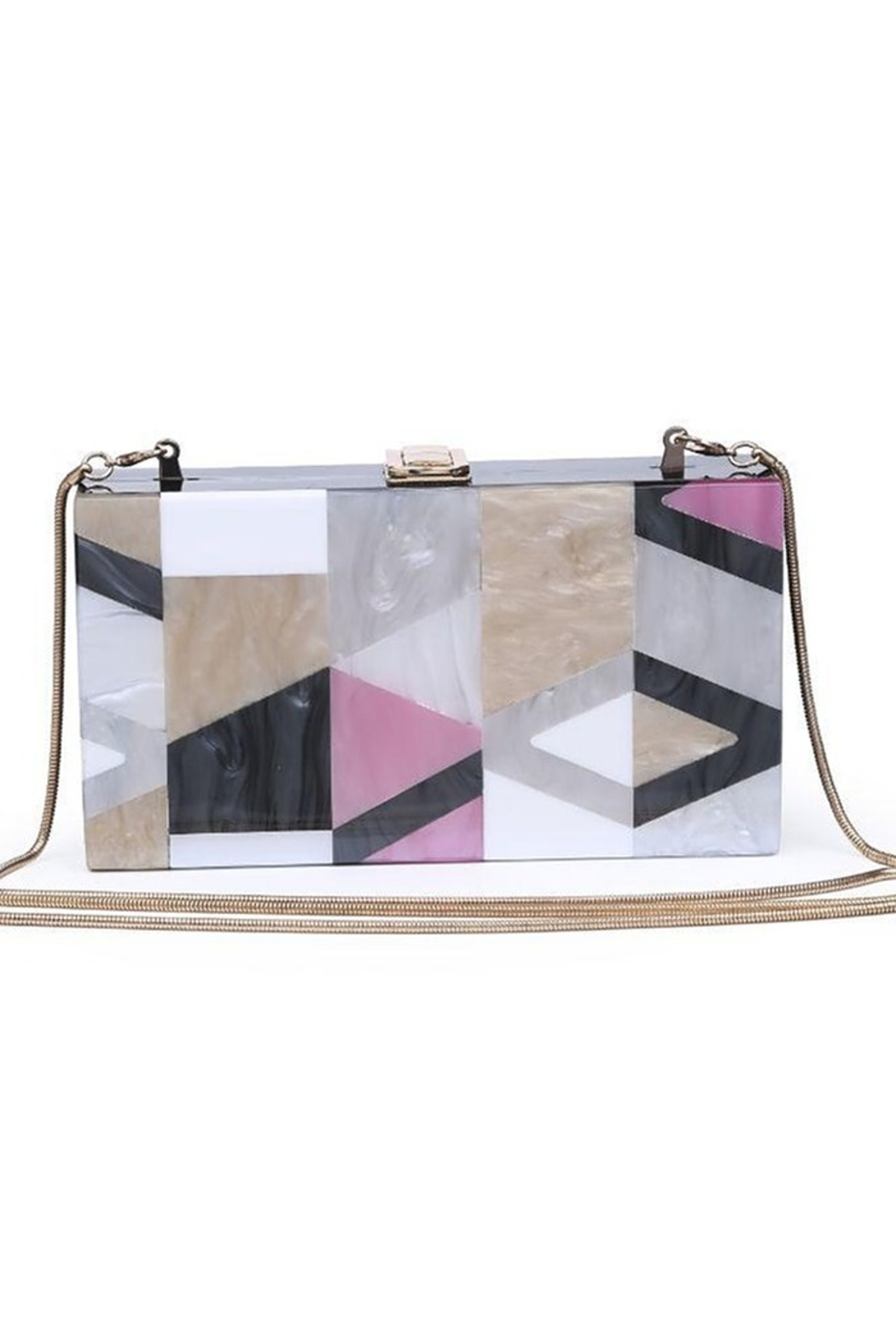 Urban Expressions Deco Clutch - Front Cropped Image