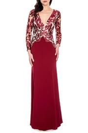 Decode 1.8 Burgundy Gown - Product Mini Image