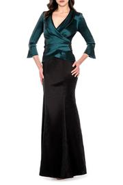 Decode 1.8 Emerald Black Gown - Product Mini Image