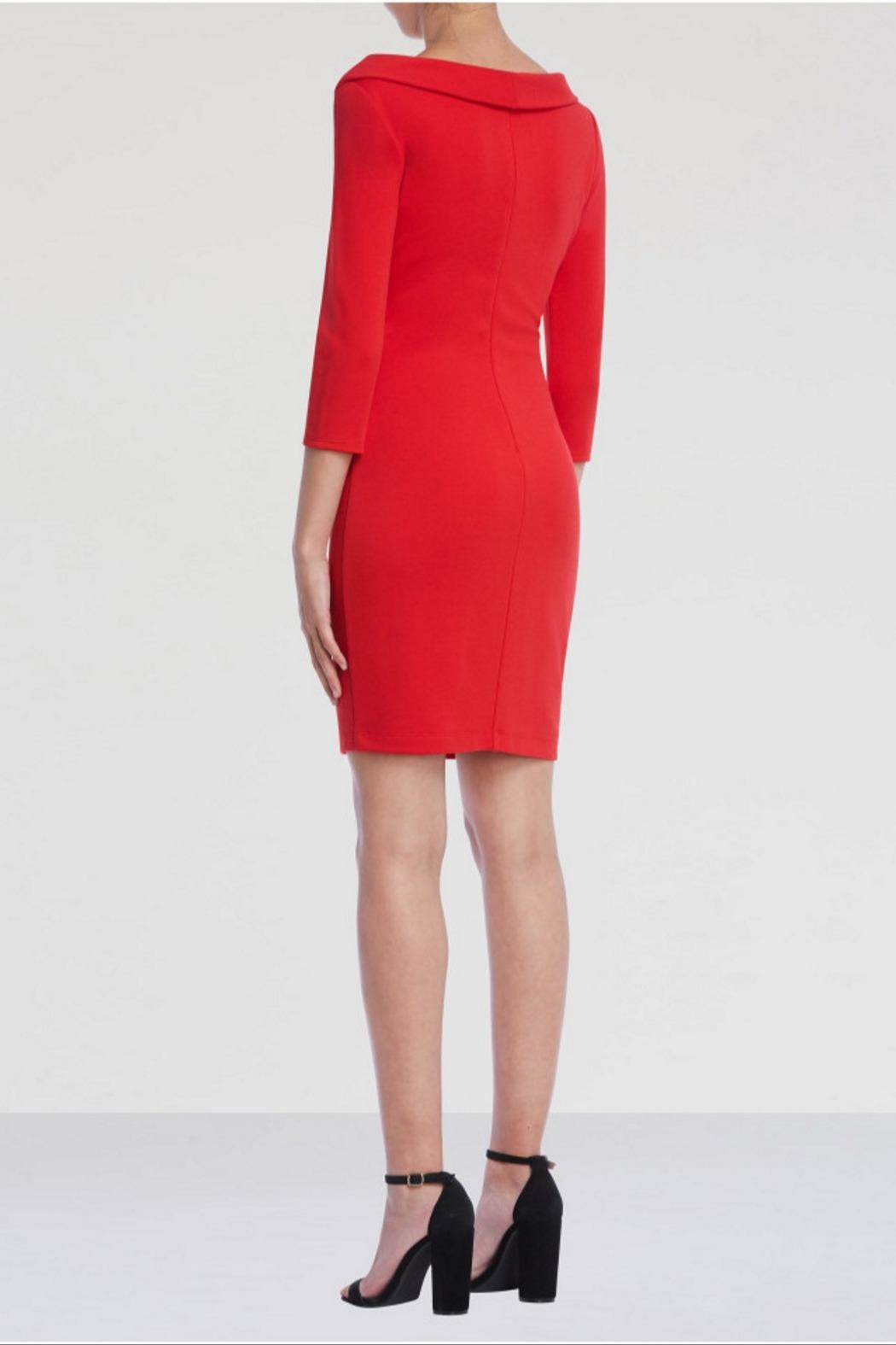 Bailey 44 Decollete Ponte Dress - Side Cropped Image