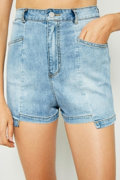 Hayden Los Angeles Deconstructed Denim Short - Product List Image