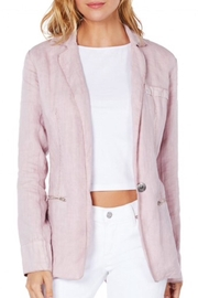 Michael Stars Deconstructed Linen Blazer - Product Mini Image