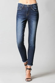 Flying Monkey Deconstructed Waistband Skinny-Jean - Product Mini Image
