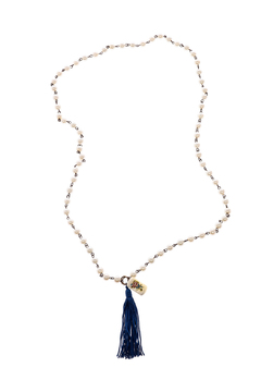Dee Dee Style Pearl Button Necklace - Product List Image