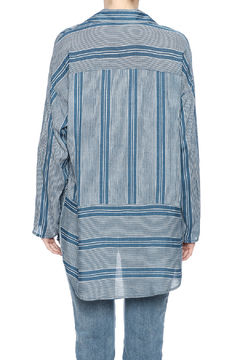 Shoptiques Product: Blue Stripe Tunic