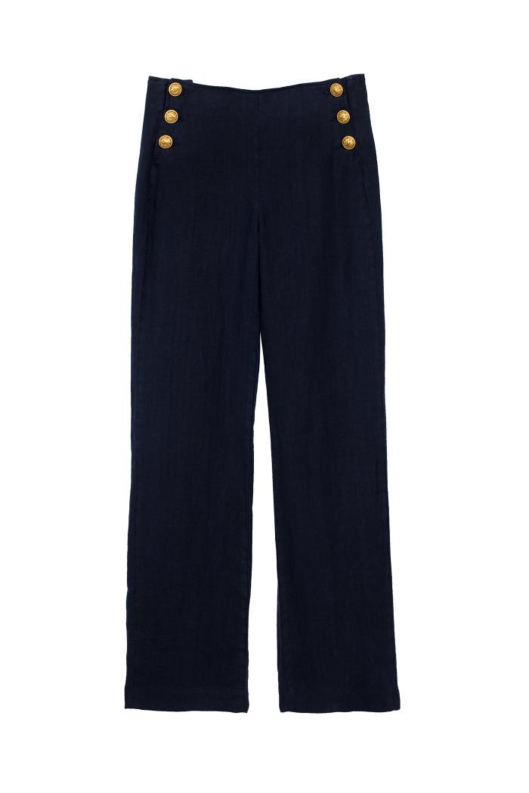 L'Agence Dee Sailor Pant - Side Cropped Image