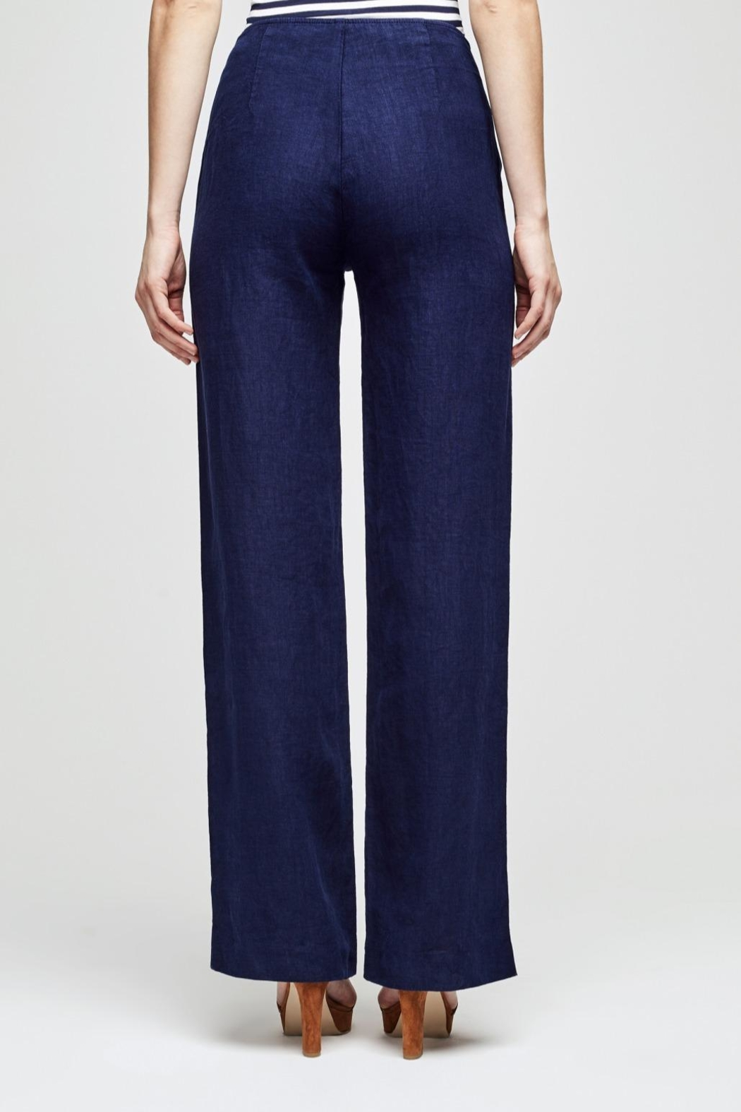 L'Agence Dee Sailor Pant - Front Full Image