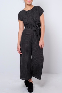 Dee Elle Polka Dot Jumpsuit - Product List Image