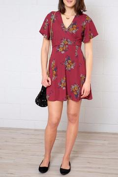 Shoptiques Product: V Neck Floral Dress