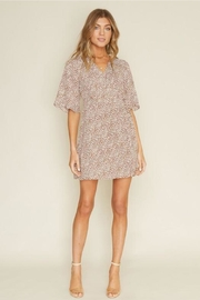 Dee Elly Brown Polka-Dot Dress - Other