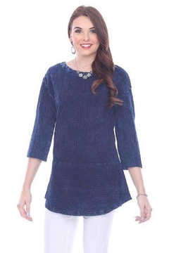 True Blue  Deep Blue Blouse - Product List Image