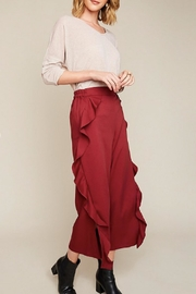 Hayden Los Angeles Deep Red Trousers - Product Mini Image