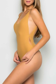 makers of dreams Deep Scoop Back Bodysuit - Front cropped