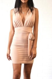 day and night Deep v Dress - Front cropped