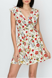 HYFVE Deep V floral print dress - Product Mini Image
