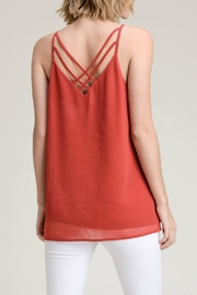 Doe & Rae Deep V Tank - Product Mini Image