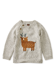 Tea Collection Deer Baby Sweater - Front cropped