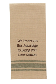 Park Designs Deer Season Dish Towel - Product Mini Image