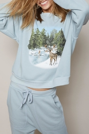 All Things Fabulous Deer Valley Sweatshirt - Front full body