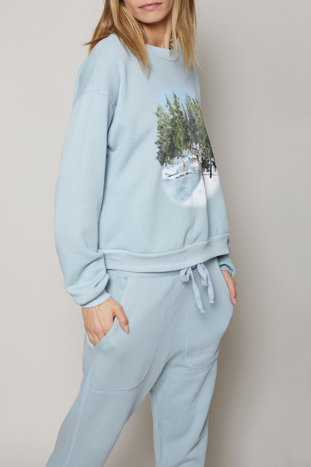 All Things Fabulous Deer Valley Sweatshirt - Side Cropped Image