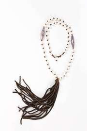 Susan McVicker Jewelry Deerskin Tassel Necklace - Product Mini Image