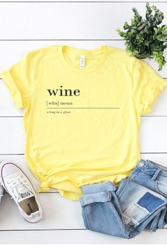 kissed Apparel Definition Of Wine - Alternate List Image