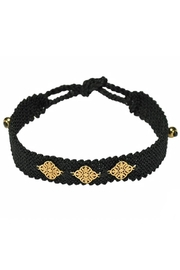 DeGRWear Black Woven Choker - Product Mini Image