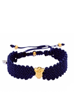 DeGRWear Navy Woven Bracelet - Alternate List Image