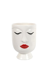 DEI Small Lipstick Face Vase - Product Mini Image